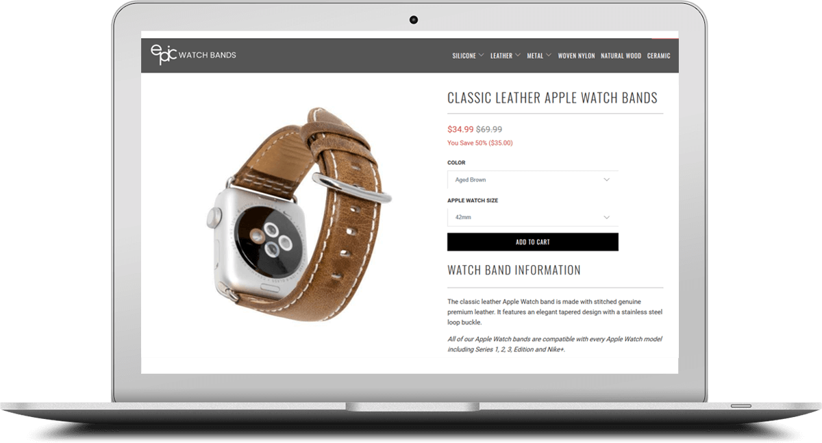 epic watch product